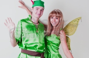 Питер Пен и фея Динь-Динь