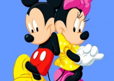 Микки и Минни Маусы