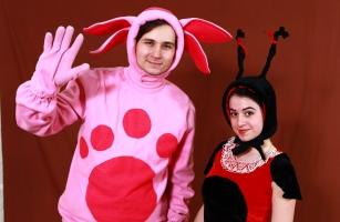 Лунтик и Мила