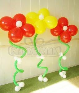 Цветки шдм + шарик