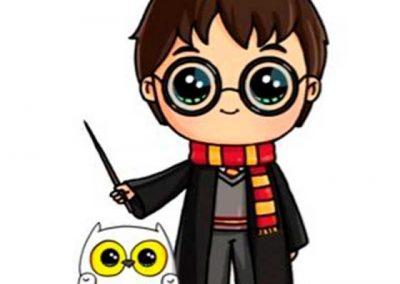 Гарри Поттер и Гермиона.